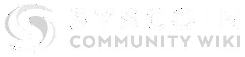 Syscoin Community Wiki